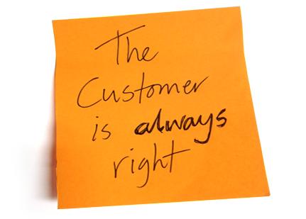 CustomerAlwaysRight