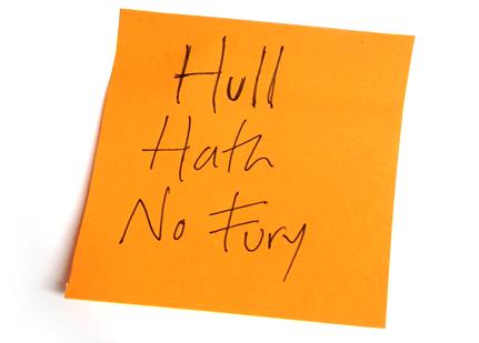 HullHathNoFury